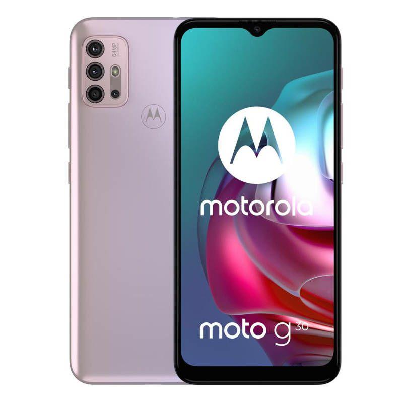 Mobitel Motorola G30 XT2129-2 PL, 6 GB, 128 GB DS Pastel Sky
