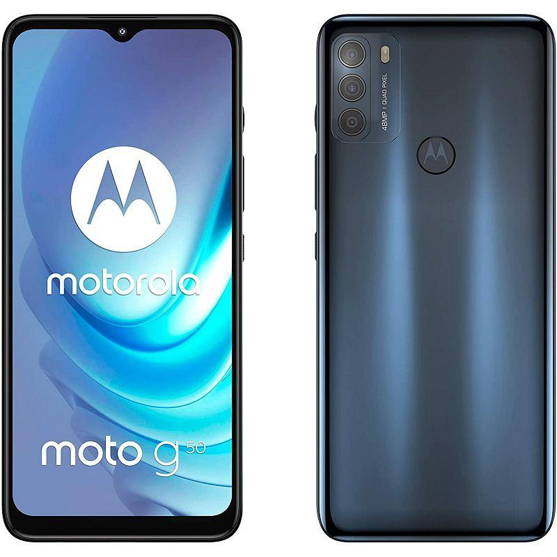 Mobitel Motorola G50 5G XT2137-1 PL GRY, 6.5'', 4GB, 64GB, Dual SIM, Steel Grey