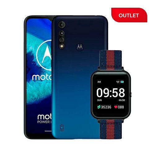 "Mobitel Motorola G8 Power Lite, 6.5"", Dual SIM, 4GB, 64GB, Android 9.0, Royal Blue + Smartwatch Lenovo S2 (outlet uređaji)"