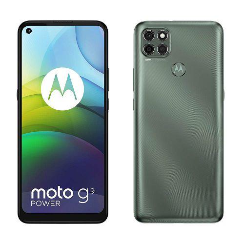 "Mobitel Motorola G9 Power, 6.8"" IPS 720 x 1640 px, Dual SIM, 4GB, 128GB, Android 10, metallic sage"