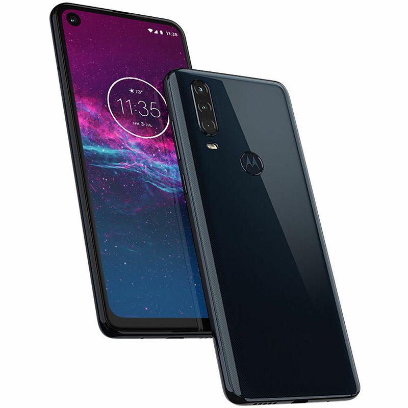 "Mobitel Motorola One Action, 6.3"" LTPS IPS 1080 x 2520 px, Dual SIM, 4GB, 128GB, Android 10, plava"