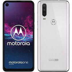 "Mobitel Motorola One Action, 6.3"", Dual SIM, 4GB, 128GB, bijela"
