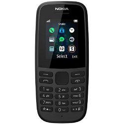 Mobitel Nokia 105 (2019), Dual SIM, crna
