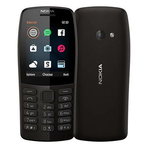 Mobitel Nokia 210, Dual SIM, crna