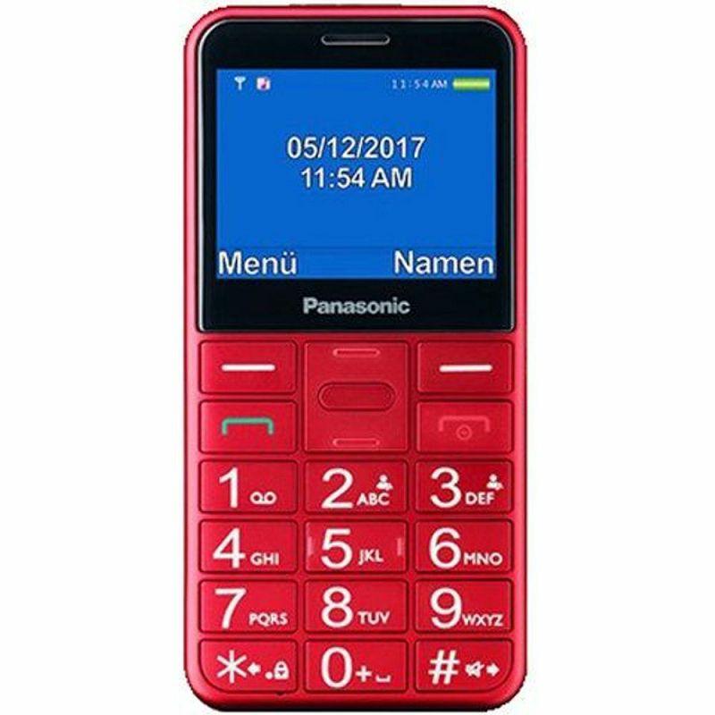 Mobitel Panasonic KX-TU150 EXR, crveni