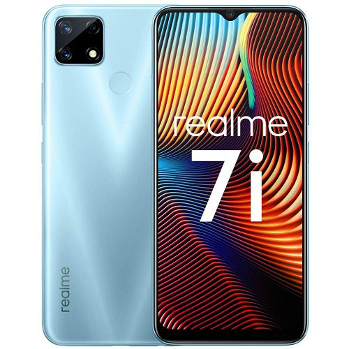 "Mobitel Realme 7i, 6.5"" IPS LCD 90Hz 720 x 1600 px, Dual SIM, 4GB, 64GB, Android 10, plavi"