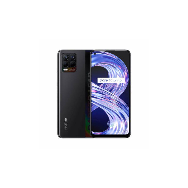 Mobitel REALME 8 DS, 6 GB, 128 GB Cyber Black