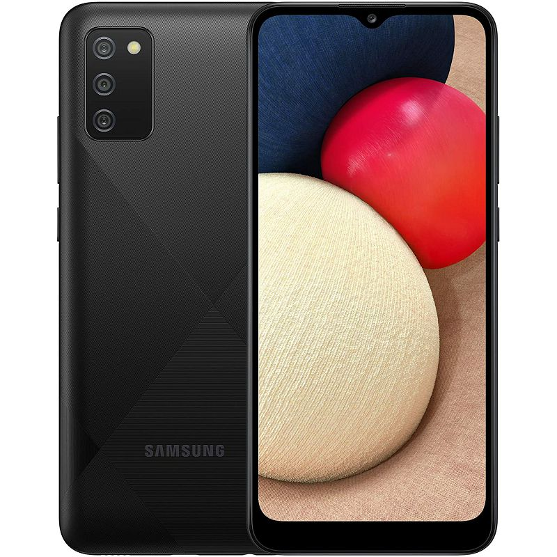 "Mobitel Samsung Galaxy A02s SM-A025F, 6.5"" PLS IPS 720 x 1600 px, Dual SIM, 3GB, 32GB, Android 10, crni"