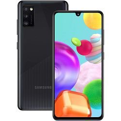 """Mobitel Samsung Galaxy A41 SM-A415F, 6.1"""" Super AMOLED 1080 x 2400 px, Dual SIM, 4GB, 64GB, Android 10, crni"""