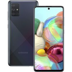"""Mobitel Samsung Galaxy A71 A715F, 6.7"""", Dual SIM, 6GB, 128GB, crni"""