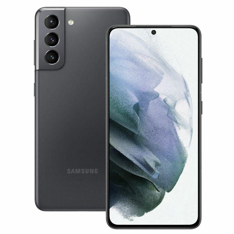 "Mobitel Samsung Galaxy S21 SM-G991, 5G, 6.2"" Dynamic AMOLED 2X 1080 x 2400 px, Dual SIM, 8GB, 128GB, Android 11, sivi"