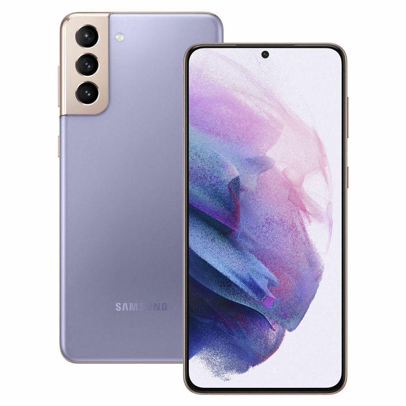 "Mobitel Samsung Galaxy S21 SM-G991, 5G, 6.2"" Dynamic AMOLED 2X 1080 x 2400 px, Dual SIM, 8GB, 128GB, Android 11, ljubičasti"