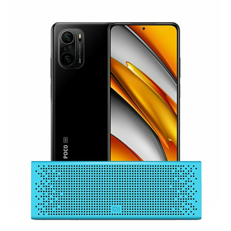 "Mobitel Xiaomi POCO F3, 5G, 6.67"" AMOLED 120Hz 1080 x 2400 px, Dual SIM, 6GB, 128GB, Android 11, MIUI 12 for POCO, crni + na dar Mi Bluetooth Speaker"
