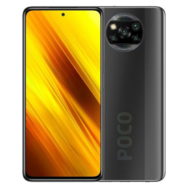 "Mobitel Xiaomi POCO X3, 6.67"" IPS 1080 x 2400 px, Dual SIM, 6GB, 64GB, Android 10, siva - PROMO"