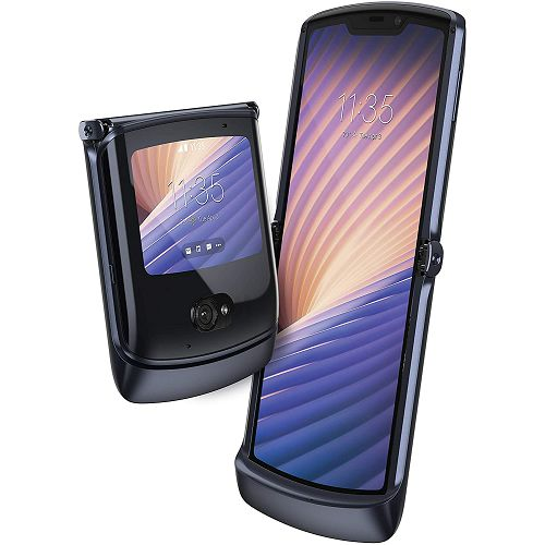 "Mobitel Motorola Razr 5G, Foldable P-OLED 6.2"" 876 x 2142 px, Single SIM & eSIM, 8GB, 256GB, Android 10, crna"