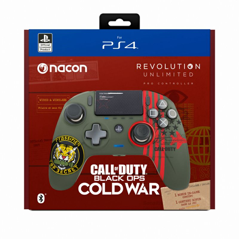Nacon Ps4 Revolution Unlimited Pro Controller Call Of Duty