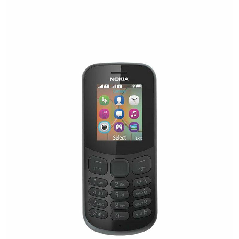 Nokia 130 (2017), Dual SIM, crni