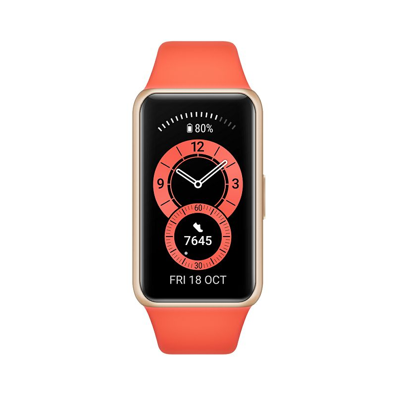 Pametna narukvica Huawei Band 6, narančasta