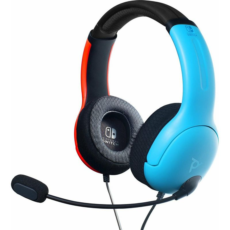 PDP NINTENDO SWITCH WIRED HEADSET LVL40 BLUE / RED