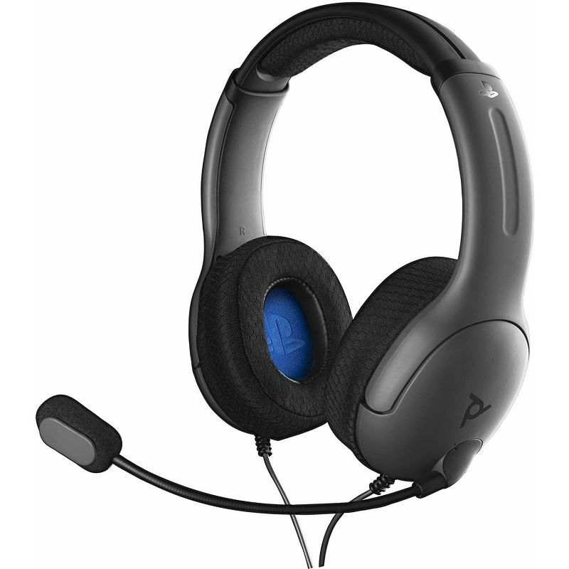 PDP PS4 STEREO HEADSET LVL40 GREY