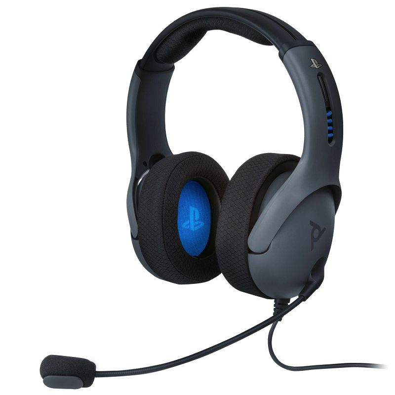 PDP PS4 WIRED HEADSET LVL50 GREY