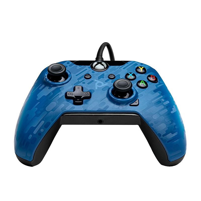 PDP XBOX WIRED CONTROLLER BLUE CAMO