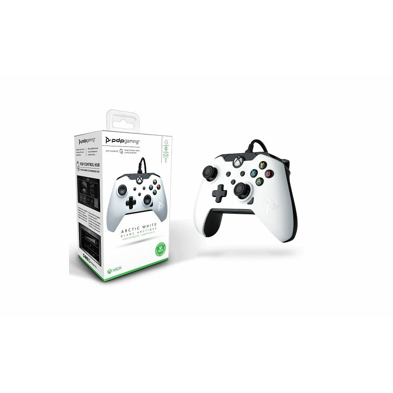 PDP XBOX WIRED CONTROLLER WHITE