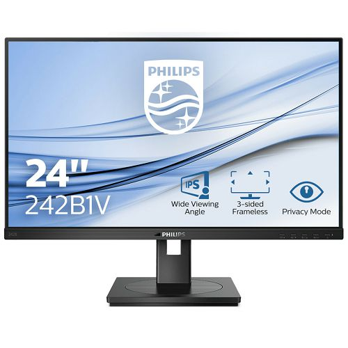 Philips 23,8 242B1V, HDMI, DVI, DP, USC3.2, filter