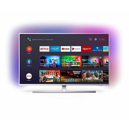 "Televizor Philips 50"" 50PUS8545, 4K Ultra HD, DVB-T2/C/S2 HEVC/H.265, HDR, Ambilight TV, AndroidTV"