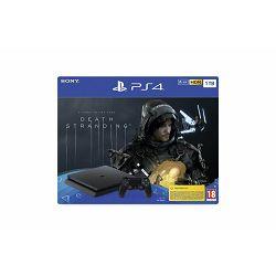 PlayStation 4 1TB F chassis Black + Death Stranding