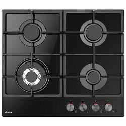 Ploča za kuhanje Amica DP 6413 LZBG, staklokeramika, 4 x plin, crna