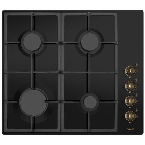 Ploča za kuhanje Amica DRP 6411 ZBB, Retro, crna