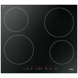Ploča za kuhanje Amica HI 6140 / DI 6401B, staklokeramika, indukcija, crna