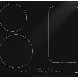 Ploča za kuhanje Amica HI 6281, staklokeramika, indukcija, crna