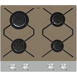 Ploča za kuhanje Amica IN PG6610SRM, 4 x plin, bež