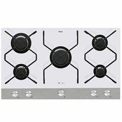 Ploča za kuhanje Amica IN PG9611SRW IN, staklokeramica, 5 x plin, bijela