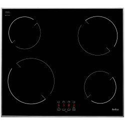 Ploča za kuhanje Amica VH 6040, staklokeramika, crna