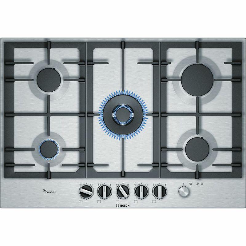 Ploča za kuhanje Bosch PCR7A5M90, plinska