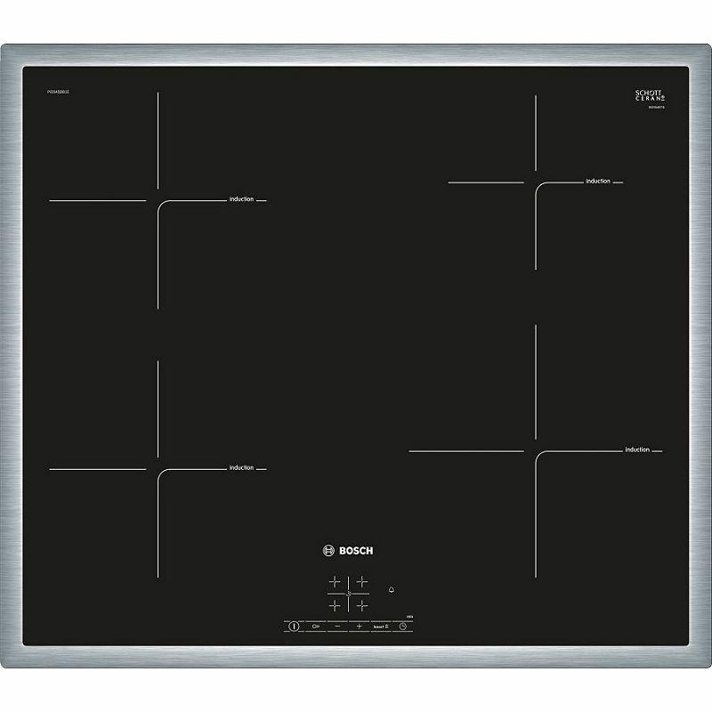 Ploča za kuhanje Bosch PIE645BB1E, staklokeramika, indukcija