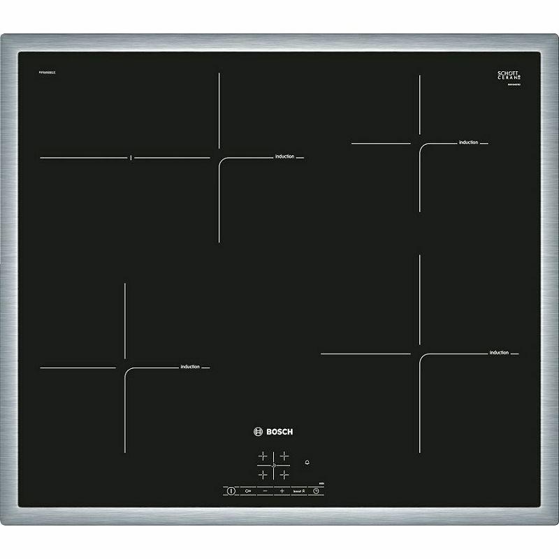 Ploča za kuhanje Bosch PIF645BB1E, staklokeramika, indukcija