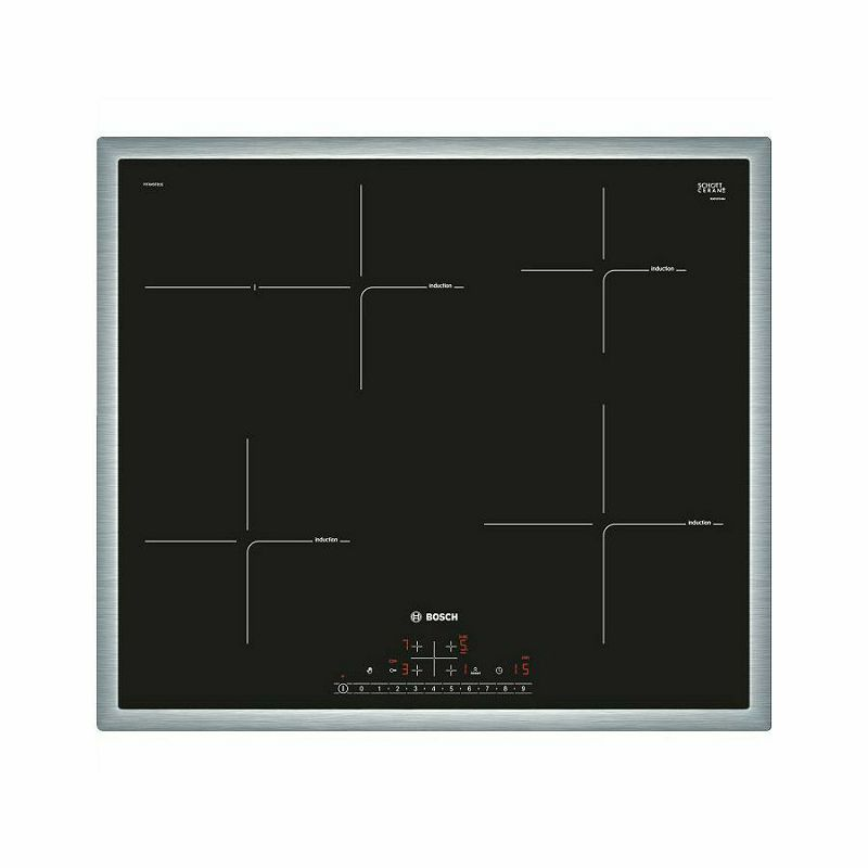 Ploča za kuhanje Bosch PIF645FB1E, staklokeramika, indukcija