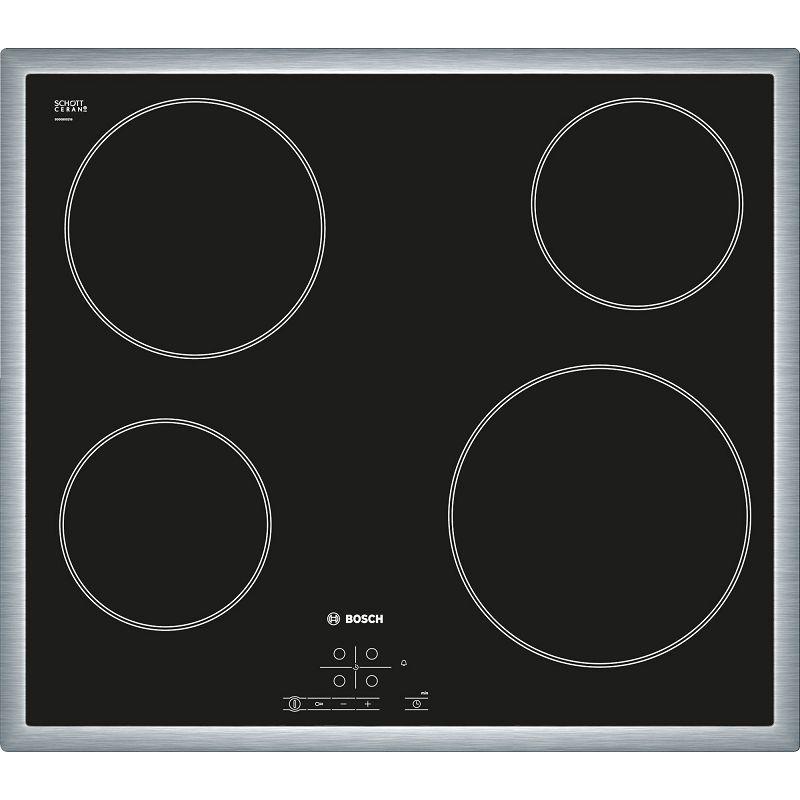 Ploča za kuhanje Bosch PKE645D17E, staklokeramika