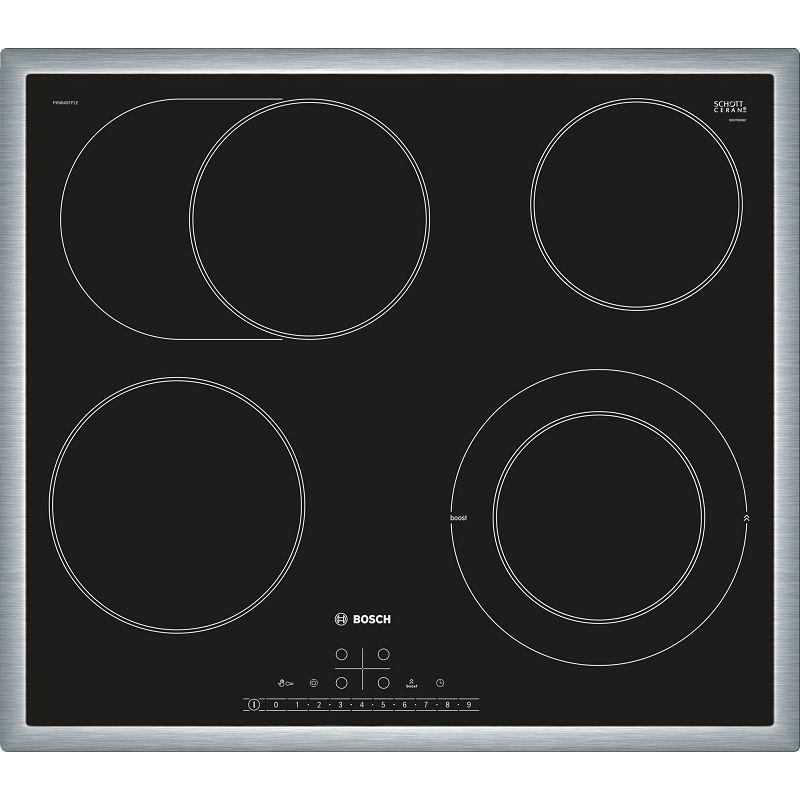 Ploča za kuhanje Bosch PKN645FP1E, staklokeramika