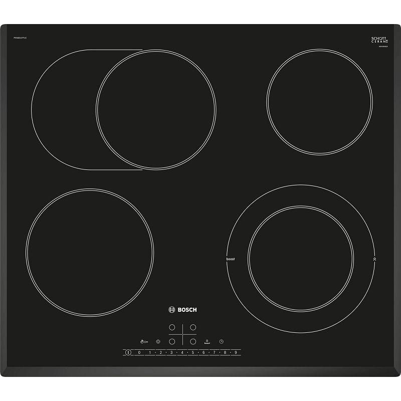 Ploča za kuhanje Bosch PKN651FP1E, staklokeramika