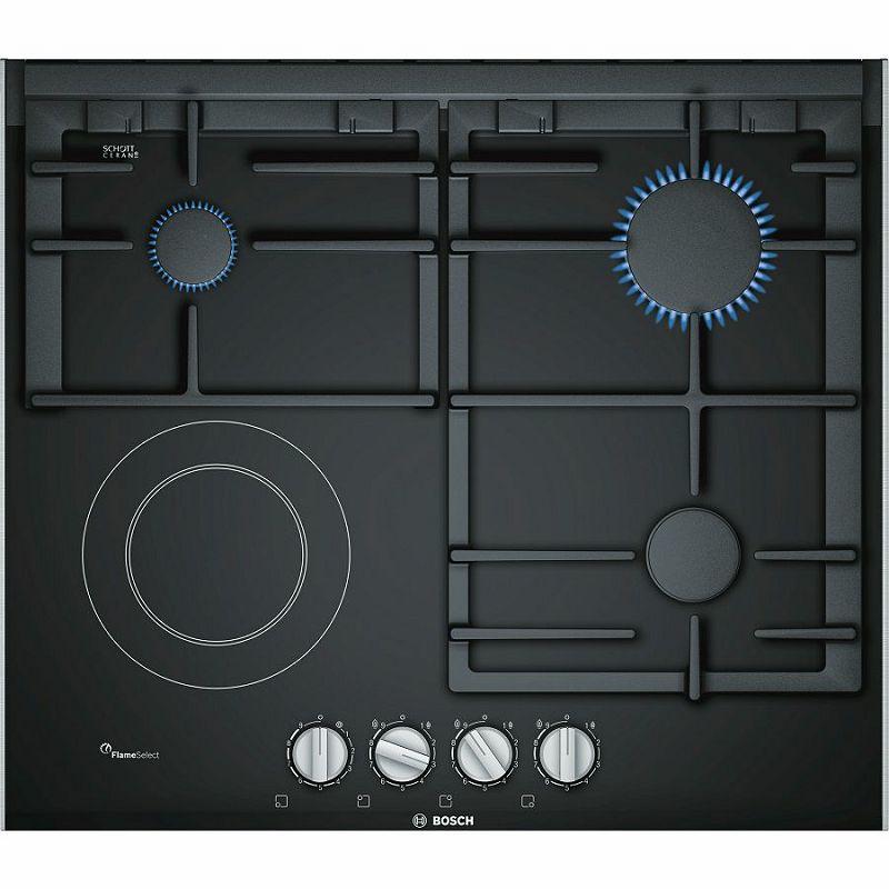 Ploča za kuhanje Bosch PRY6A6B70, kombinirana, plinska