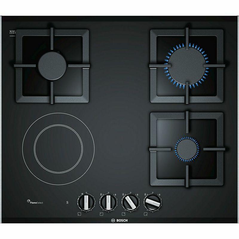 Ploča za kuhanje Bosch PSY6A6B20, kombinirana, plinska