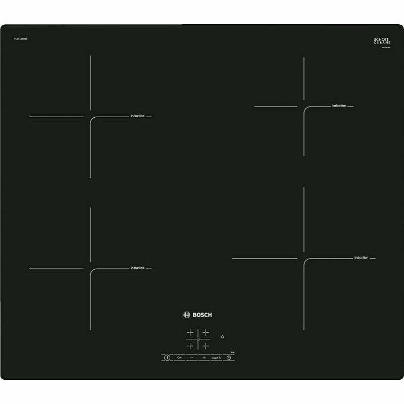 Ploča za kuhanje Bosch PUE611BB2E, staklokeramika, indukcija