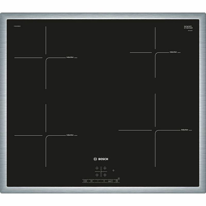 Ploča za kuhanje Bosch PUE645BB2E, staklokeramika, indukcija