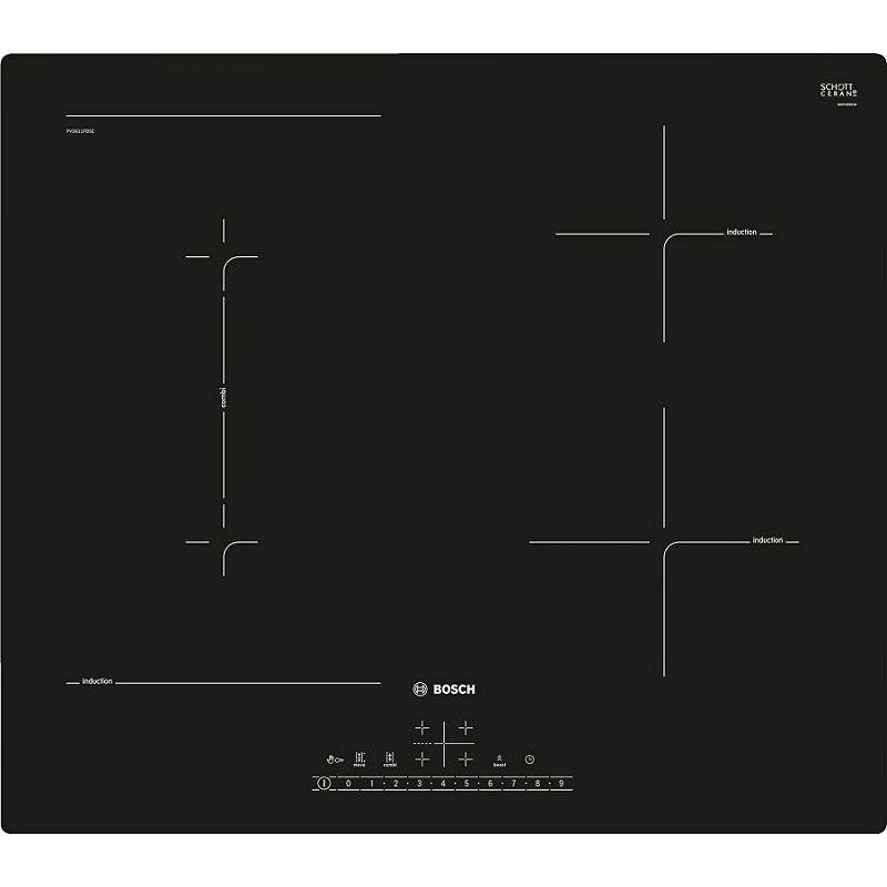 Ploča za kuhanje Bosch PVS611FB5E, staklokeramika, indukcija
