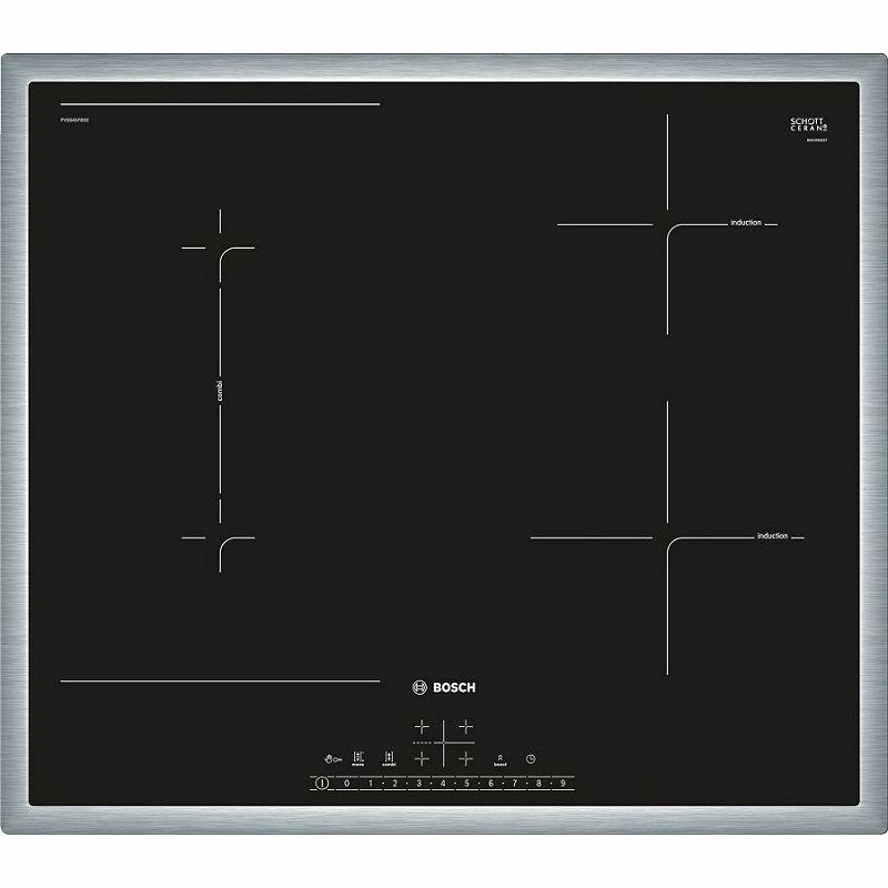 Ploča za kuhanje Bosch PVS645FB5E, staklokeramika, indukcija